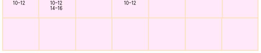 ロロットキャンドルのカレンダー