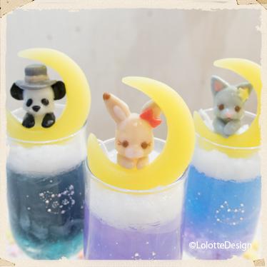 リム・メルちゃんの【星空スイーツ】のキャンドルレッスン2